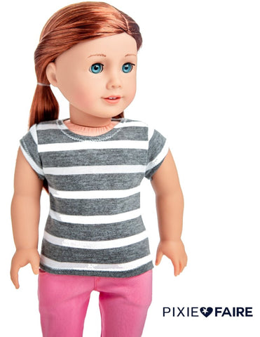 "FREE T-Shirt 18"" Doll Clothes Pattern"