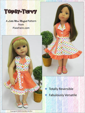 Topsy Turvy Pattern for Gotz Dolls