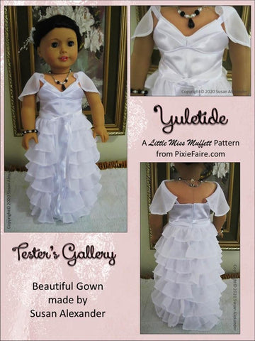 "Yuletide 18"" Doll Clothes Pattern"