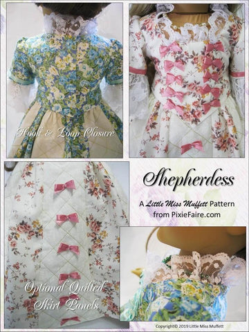 "Shepherdess 18"" Doll Clothes Pattern"