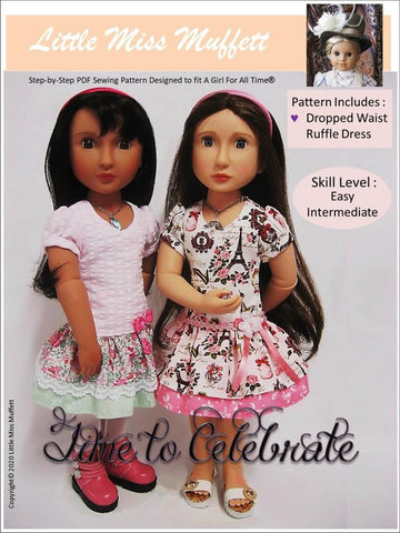 Time To Celebrate Pattern for AGAT Dolls