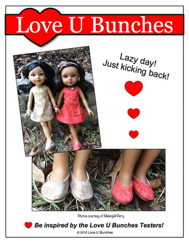 Plain Jane Shoes for Les Cheries and Hearts For Hearts Girls Dolls
