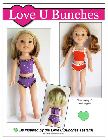 "Dainty Things 14.5"" Doll Clothes Pattern"