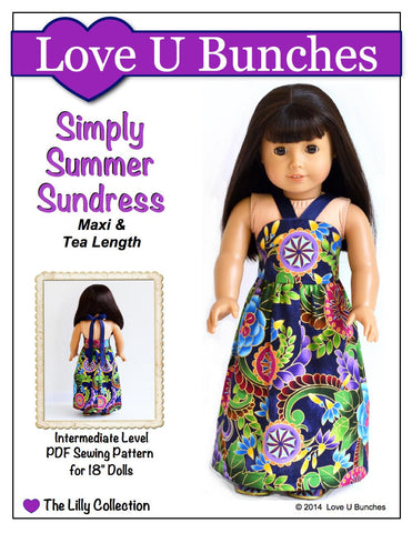 "Simply Summer Sundress 18"" Doll Clothes"