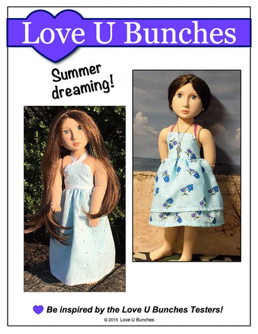 Simply Summer Sundress Pattern for AGAT Dolls