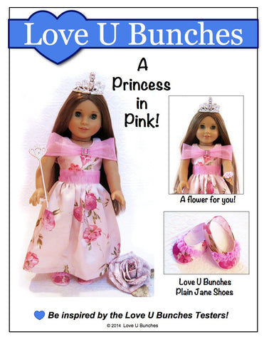 "Princess Anya Dress 18"" Doll Clothes"