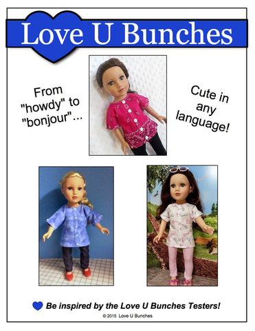 Bandana Blouse Pattern for Journey Girls Dolls