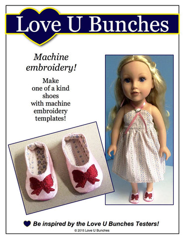 Plain Jane Shoes for Journey Girls Dolls