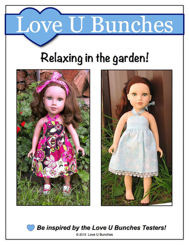 Simply Summer Sundress Pattern for Journey Girls Dolls