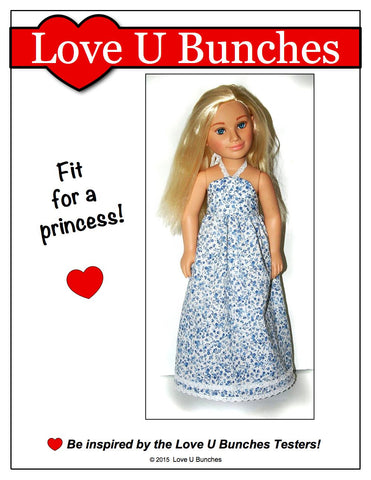 Simply Summer Sundress Pattern for Karito Kids Dolls