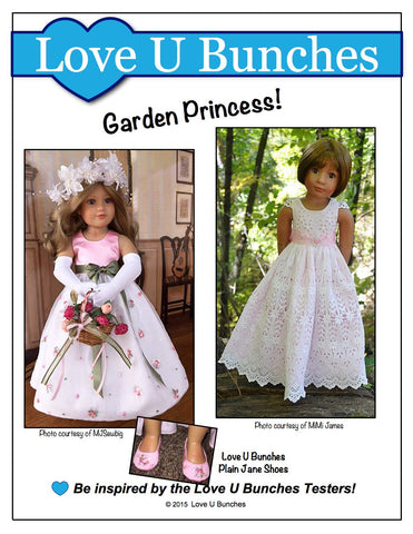 Princess Anya Pattern for Kidz N Cats Dolls