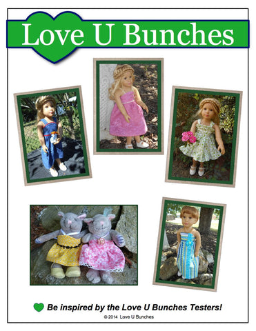 Simply Summer Sundress Pattern for Kidz 'n' Cats Dolls & The Cat