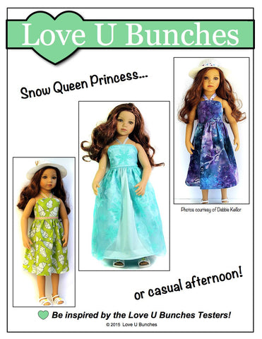 Simply Summer Sundress Pattern for Maru and Friends Dolls
