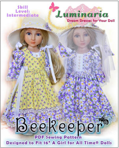 Beekeeper Pattern for AGAT Dolls