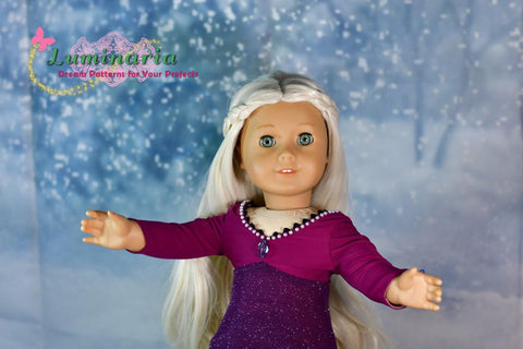 "Enchanted Dream 18"" Doll Clothes Pattern"
