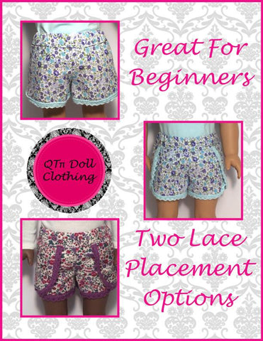 "Lace Dolphin Shorts 18"" Doll Clothes"