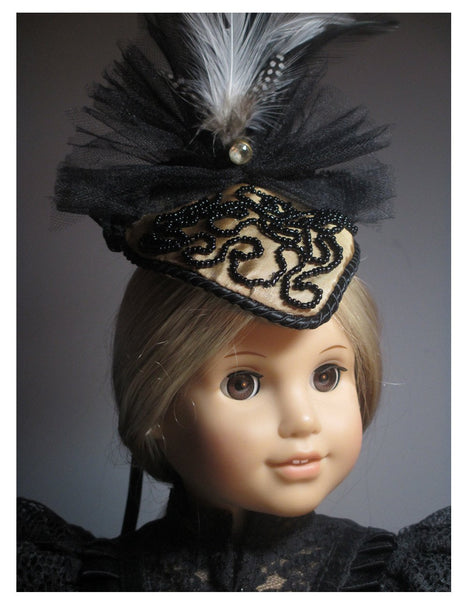 Late 1800 S Hat 18 Inch Doll Accessories Pdf Pattern Download Pixie Faire