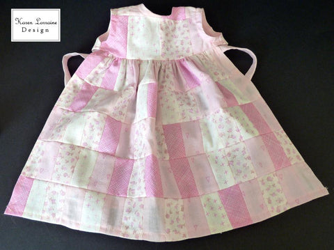 "Les Souvenirs 18"" Doll Clothes Pattern"