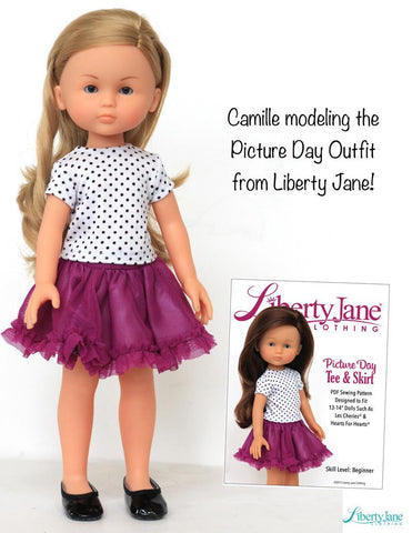 "Camille Riviera 13"" Les Cheries and Mini Doll Bundle"