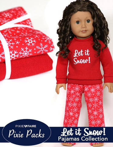 Pixie Packs Let It Snow Pajamas Collection