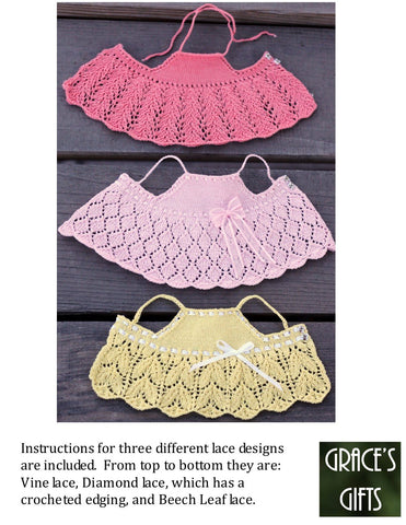 "Light & Lacy 14.5"" Doll Knitting Pattern"