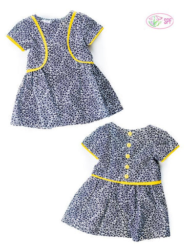 Lilibet Dress 18 Inch Doll Clothes Pattern