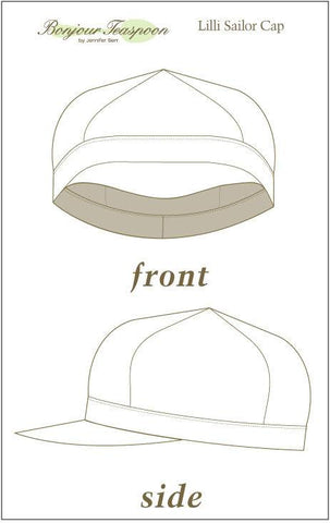 Lilli Sailor Cap Pattern for Kids