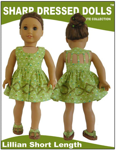 "The Lillian Dress 18"" Dolls"
