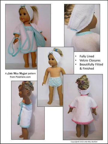 "Luxurious Day at the Spa 18"" Doll Clothes"