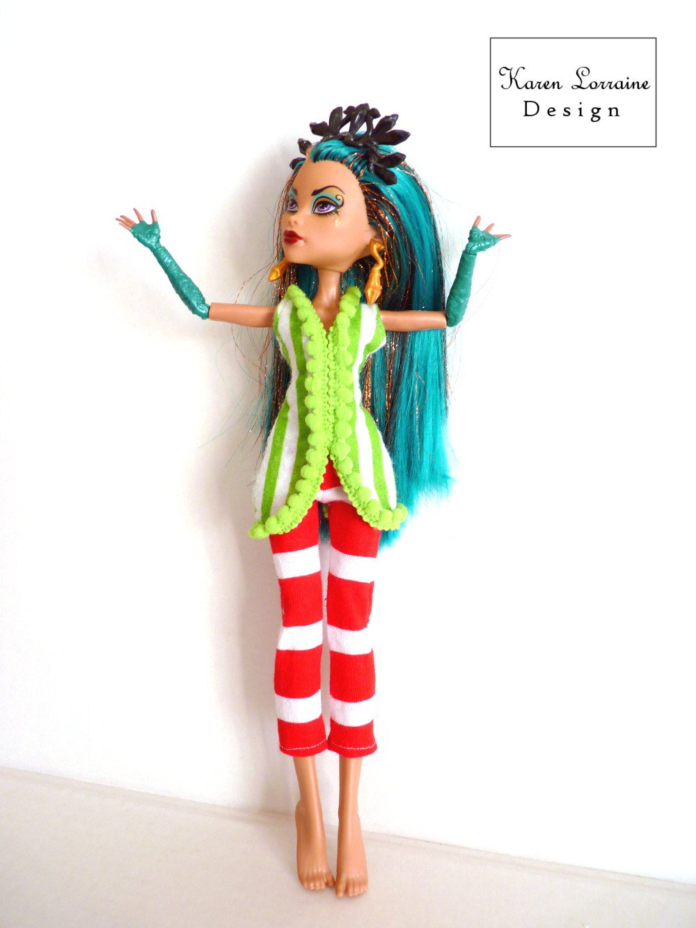 The Occasional Elf Pattern for Monster High Dolls