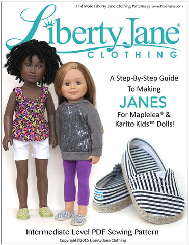 JANES for Maplelea and Karito Kids Dolls