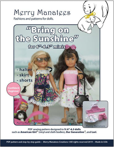 "Bring On The Sunshine for 6"" Mini Dolls"