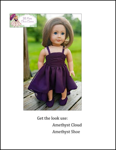 "Amethyst Shoe 18"" Doll Shoes"