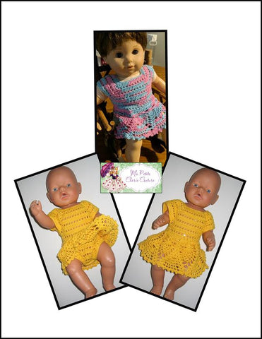"Fayola 15"" Doll Clothes Crochet Pattern"
