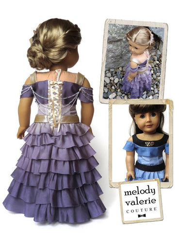 Ardith Dress pattern for American Girl Dolls