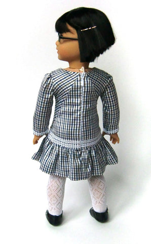 "Check! Dress 18"" Doll Clothes"