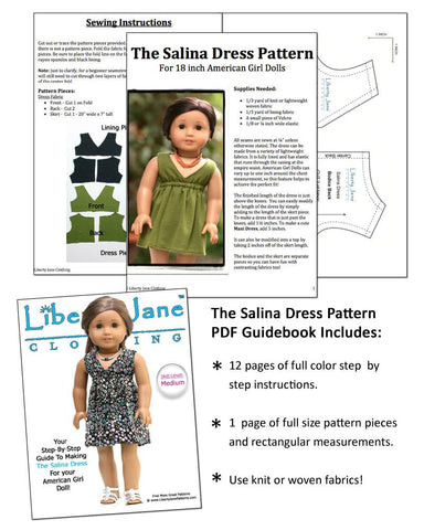 CD Doll Clothes Pattern Bundle - Malibu Libby Collection