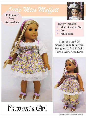 "Mamma's Girl 18"" Doll Clothes"