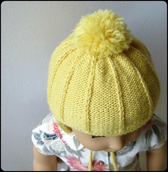 Marigold Ear Flap Hat Knitting Pattern Pdf Download Pixie Faire