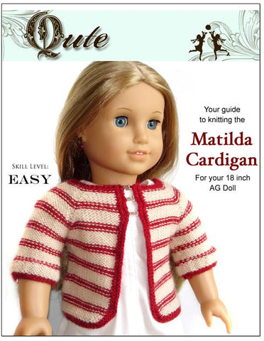 Matilda Cardigan Knitting Pattern