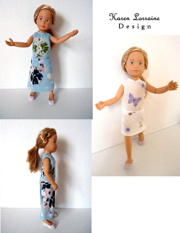"Meadow Dress for 9"" - 12"" Fashion Dolls"