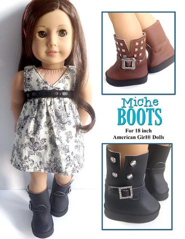 "Miche Boots 18"" Doll Shoes"