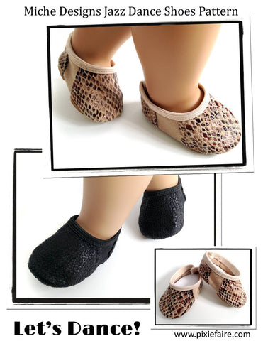 "Jazz Dance 18"" Doll Shoes"