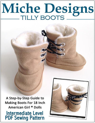 "Tilly Boot 18"" Doll Shoes"