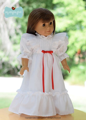 "My Angie Girl 18 Inch Modern Ruffled Nightgown 18"" Doll Clothes Pixie Faire"