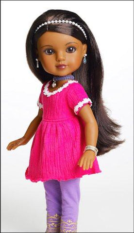 "Hearts For Hearts Girls Nahji From India 14"" Doll"