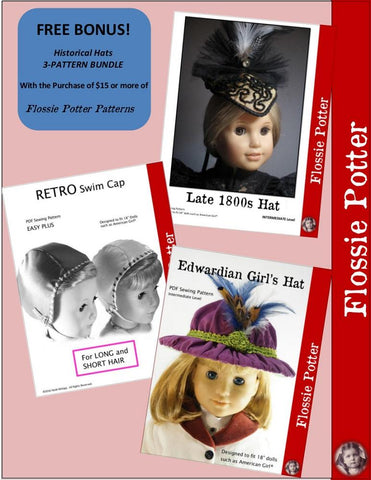 Flossie Potter Free Bonus With Purchase 2017