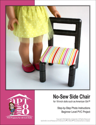 No-Sew Side Chair PVC Pattern