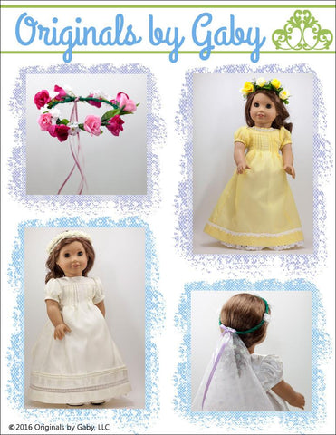 "Flower Crown 16-20"" Doll Accessories"