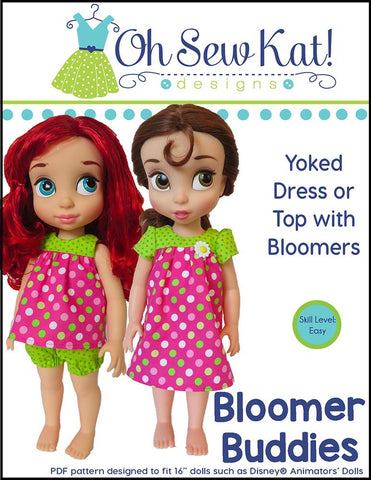 Bloomer Buddies Pattern for Disney Animators' Dolls